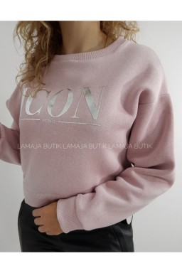 BLUZA ICON POWDER PINK