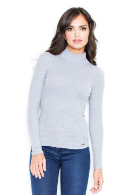 Sweter Damski Model 329 Grey - Figl