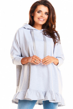 Bluza Damska Model M184 Light Grey - Infinite You