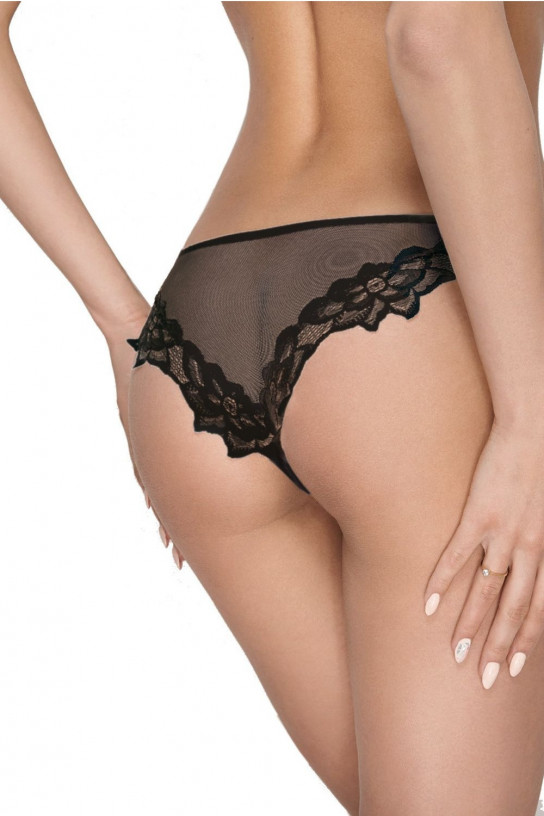 Stringi Szorto-stringi Model Zuza 043 Black - Ewana