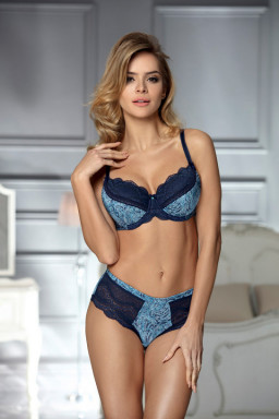 Szorty-Bokserki Model Amy Navy/Blue - Unikat