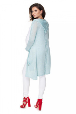Sweter Kardigan Model 30073 Sky Blue - PeeKaBoo