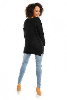 Sweter model 30045 Black - PeeKaBoo