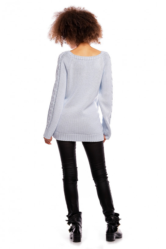 Sweter model 30050C Sky Blue - PeeKaBoo