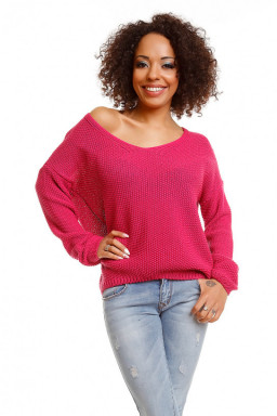 Sweter model 30047 Fuchsia...