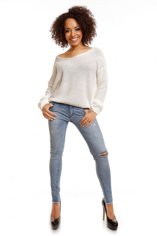 Sweter model 30047 Cream - PeeKaBoo