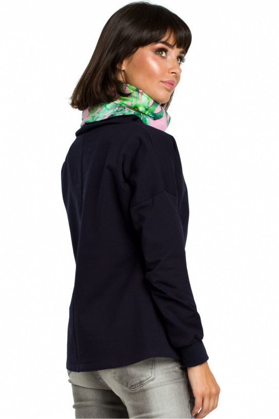 Bluza Damska Model B084 Navy - BE