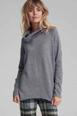 Sweter Damski Model CSW01 Grey - Colett