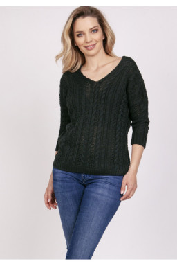 Sweter Damski Model SWE213 Dark Green - MKM