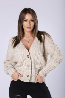 oversize'owy sweter...